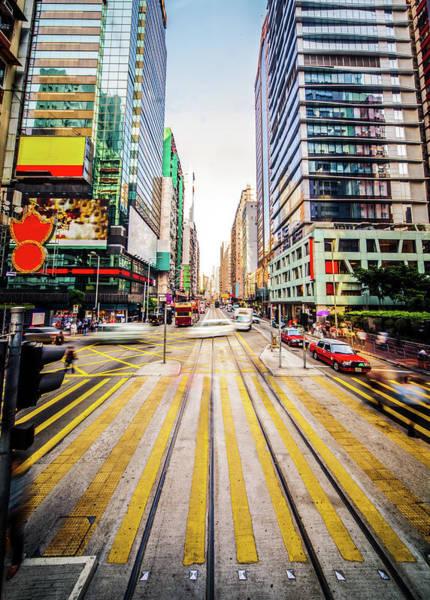 Long Tail Photograph - Modern City Blur by Itsskin