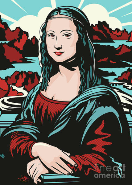 Mona Lisa Wall Art - Digital Art - Mona Lisa by James Lee