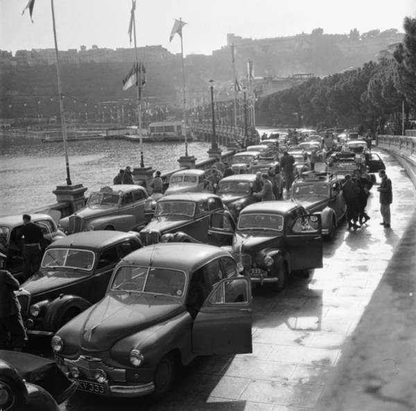 Monaco Photograph - Monaco Car Rally by Three Lions