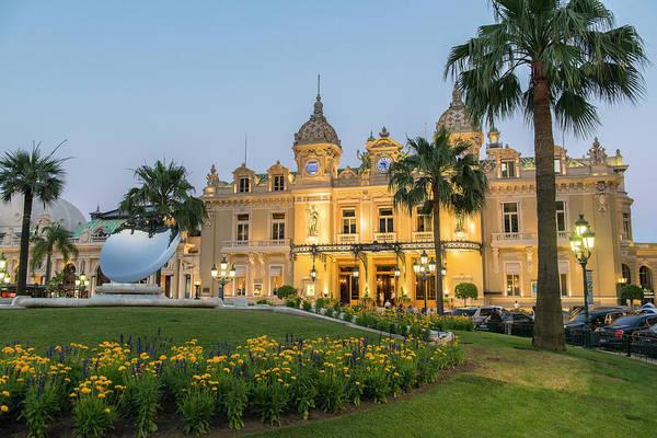 Wall Art - Photograph - Monte Carlo Casino, Monte Carlo, Monaco by Jim Engelbrecht