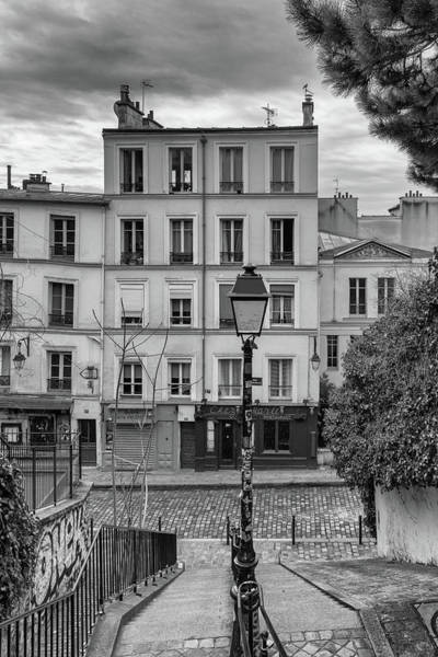 Photograph - Montmartre Steps To Chez Marie by Georgia Fowler