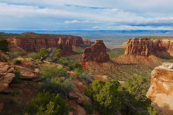 Photograph - Monument Canyon by Dan Miller