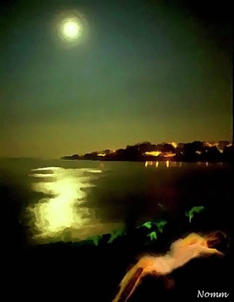 Digital Art - Moon For The Misbegotten by Rein Nomm