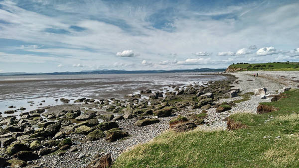 Photograph - Morecambe. Hest Bank. The Shoreline. by Lachlan Main