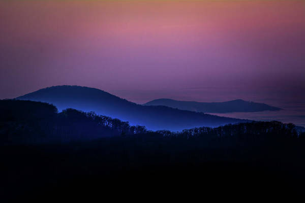Photograph - Morning Light In Shenandoah  by William Christiansen