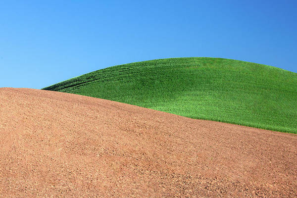 Mound Photograph - Layers Of Mounds by Todd Klassy