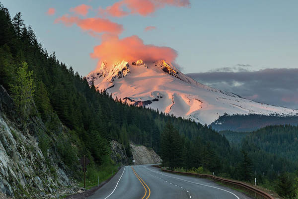 Mount Hood Photograph - Mount Hood by Ian Stotesbury