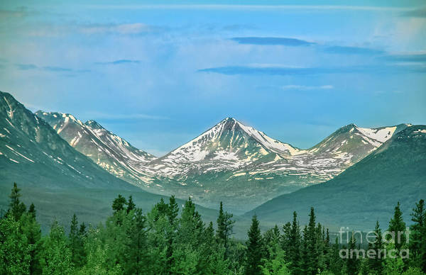 Wall Art - Photograph - Mountain Peak In The Canadian Rockies by Robert Bales