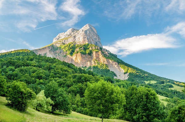 Chartreuse Photograph - Mountain Peak by Mmac72