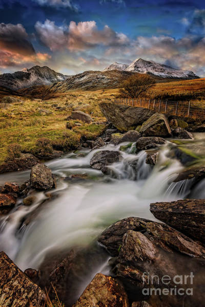 Wall Art - Photograph - Mountains North Wales by Adrian Evans