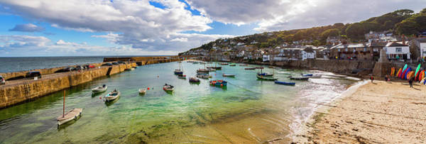 Photograph - Mousehole, Cornwall, Uk. Panorama. by Maggie McCall