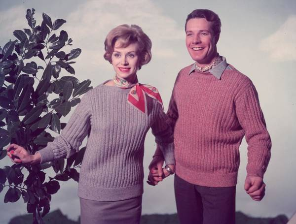 Sweater Photograph - Mr And Mrs by Chaloner Woods