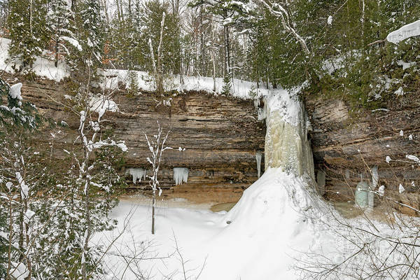 Photograph - Munising Falls by Jim West