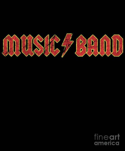 Digital Art - Music Band Shirt Sarcastic Funny by Flippin Sweet Gear