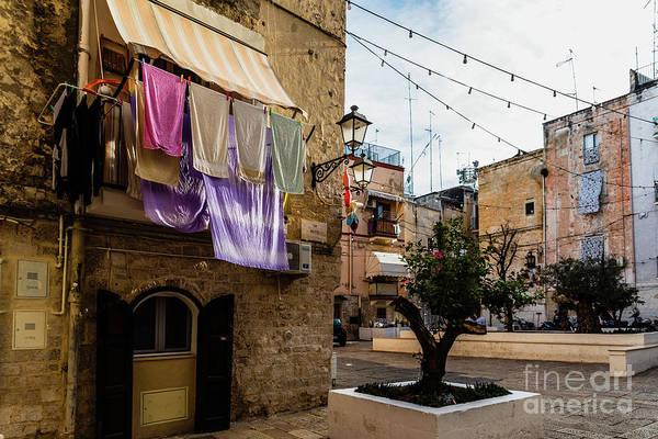 Photograph - Narrow Streets Of The Beautiful City Of Bari, Ideal For Strollin by Joaquin Corbalan