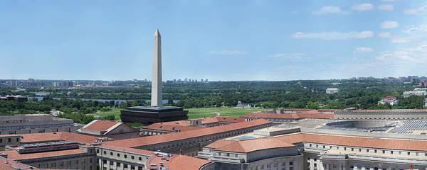 Federal Triangle Wall Art - Photograph - National Mall by Nandor Nagy