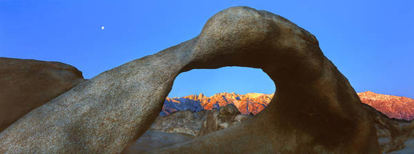 Wall Art - Photograph - Natural Rock Formations, Alabama Hills by Panoramic Images