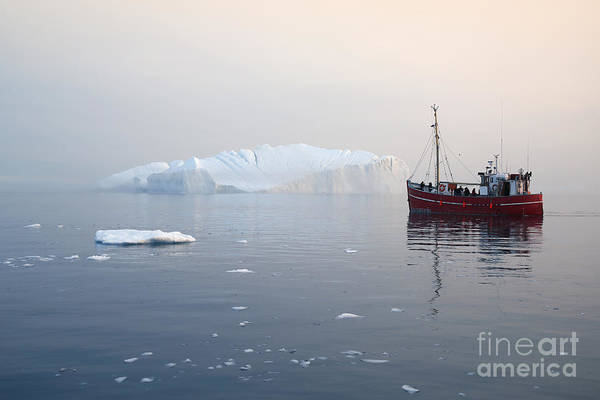Fjord Photograph - Nature And Landscapes Of Greenland by Denis Burdin