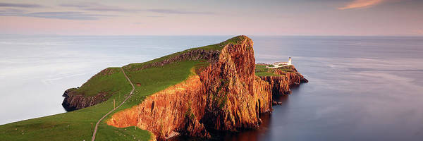 Wall Art - Photograph - Neist Point Sunset - Isle Of Skye by Grant Glendinning