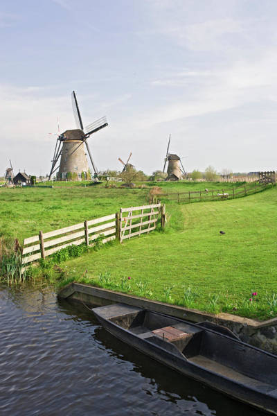 Wall Art - Photograph - Netherlands, Kinderdijk by Jaynes Gallery