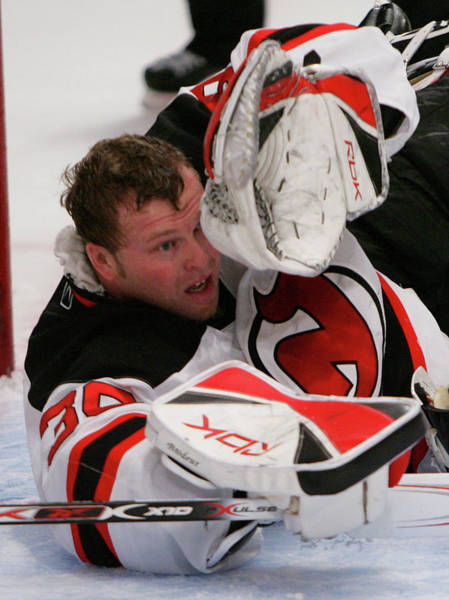 Nhl Photograph - New Jersey Devils V New York Rangers - by Bruce Bennett