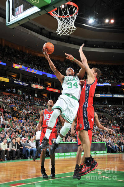 Photograph - New Jersey Nets V Boston Celtics by Brian Babineau