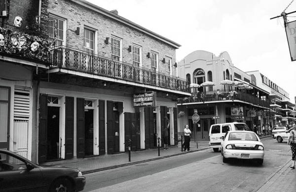 Photograph - New Orleans Bourbon Street 2004 #43 by Frank Romeo