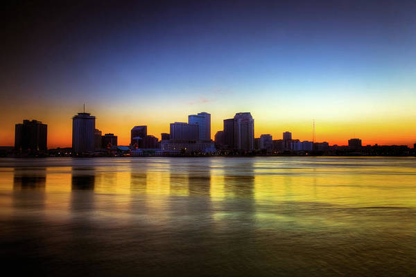Louisiana Photograph - New Orleans Skyline At Twilight by Moreiso