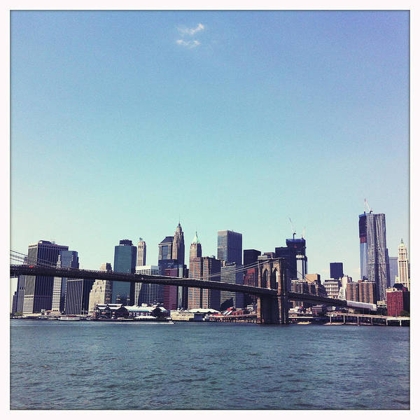 Wall Art - Photograph - New York Skyline by Ixefra