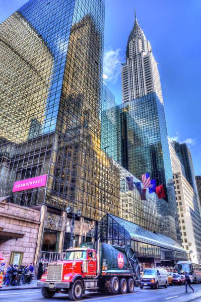 Wall Art - Photograph - New York Street Scene by David Pyatt