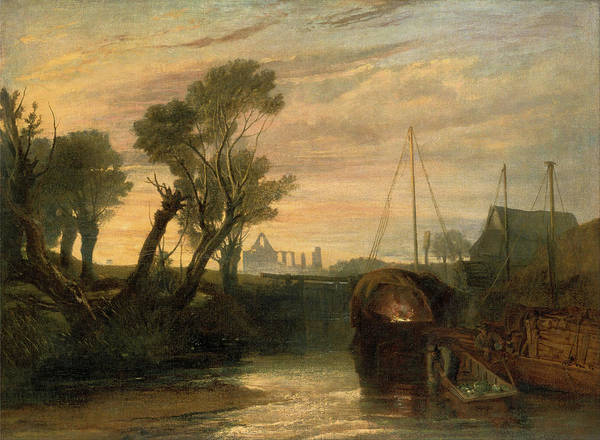 Painting - Newark Abbey by Joseph Mallord William Turner