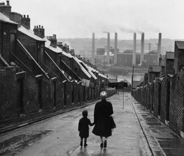 Newcastle Upon Tyne Photograph - Newcastle Street by Bert Hardy