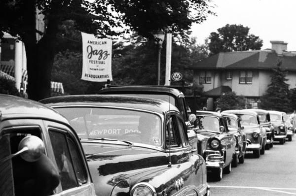 Jazz Music Photograph - Newport Jazz Festival by Michael Ochs Archives