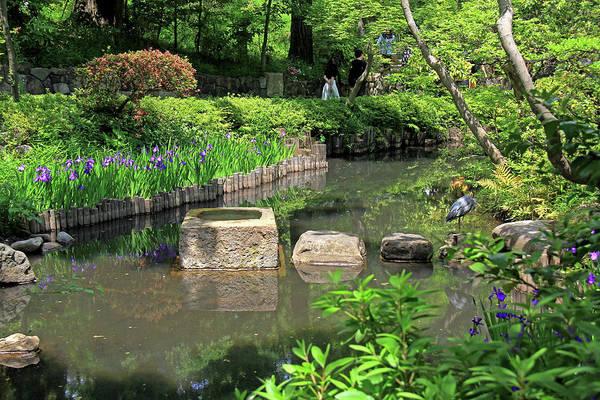 Photograph - Nezu Fine Art Garden - Tokyo, Japan by Richard Krebs