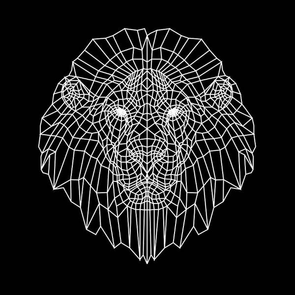 Wall Art - Digital Art - Night Lion by Naxart Studio