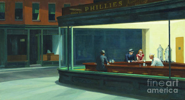 Wall Art - Painting - Nighthawks, 1942  by Edward Hopper