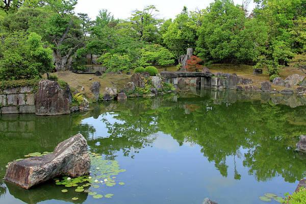 Photograph - Nijo Castle Garden - Kyoto, Japan by Richard Krebs