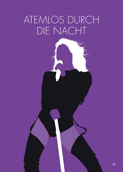 Wall Art - Digital Art - No221 My Helene Fischer Minimal Music Poster by Chungkong Art