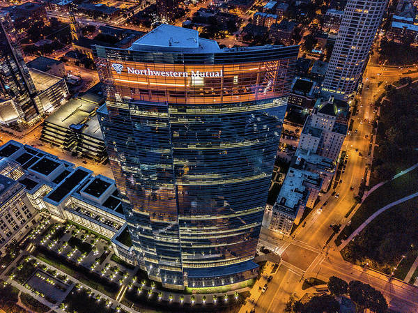 Photograph - Northwestern Mutual Tower by Randy Scherkenbach