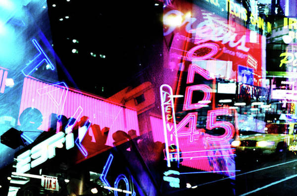 Photograph - Nyc Times Square Visual Riot by Eyetwist / Kevin Balluff