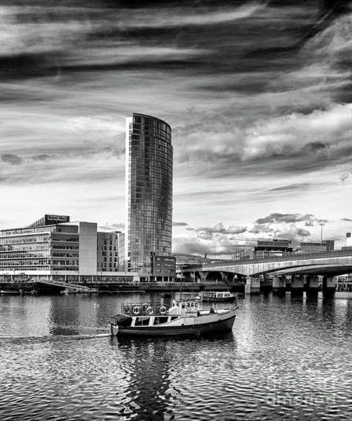 Photograph - Obel Tower, Belfast by Jim Orr