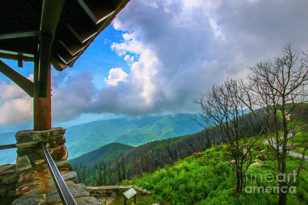 Photograph - Observation Tower View by Tom Claud
