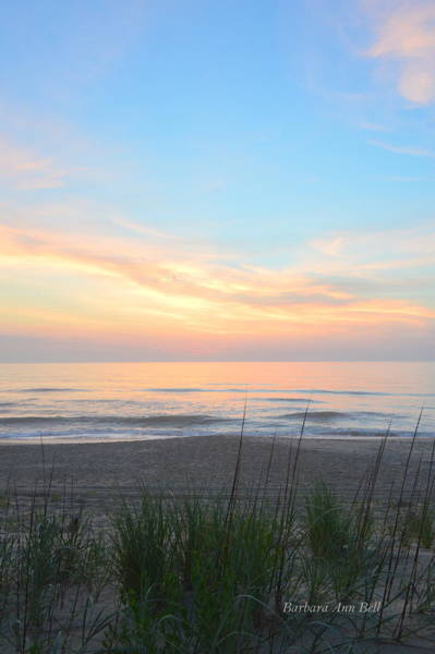 Photograph - Obx Sunrise by Barbara Ann Bell