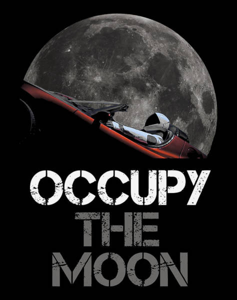 Wall Art - Photograph - Occupy The Moon by Filip Hellman