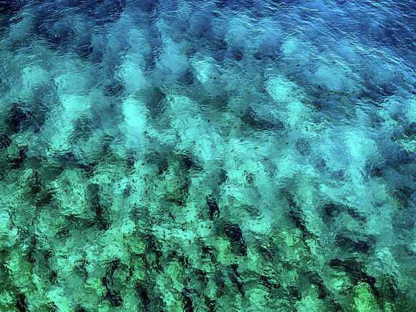Photograph - Ocean Abstract by Christopher Johnson