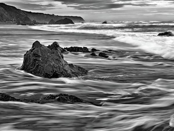 Photograph - Ocean Current by Leland D Howard