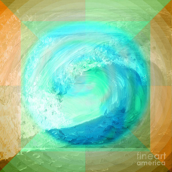 Ocean Earth Art Print
