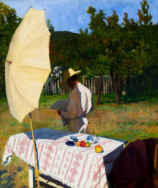 Wall Art - Painting - October by Karoly Ferenczy