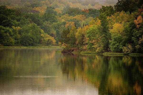 Photograph - October Reflections Oct 2nd by Jeff Phillippi
