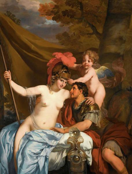 Odysseus Painting - Odysseus And Calypso, 1680 by Gerard de Lairesse